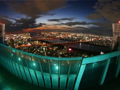 Night view of Osaka by <b>the other Martin Tenbones</b> ( a Panoramio image )