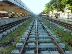 "Mysterious Destination( as ""Rafl"" said),Kamalapur Railway Statio by <b>F.Zaman</b> ( a Panoramio image )"