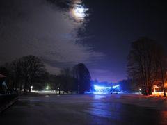 Rising Moon by <b>Radu.A</b> ( a Panoramio image )