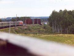 Trans Siberian Rail by <b>Brian Clappier</b> ( a Panoramio image )
