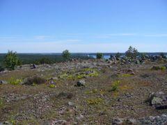 Bomarsund, Nortviksbasen, view from Notvikstornet, 20090622 by <b>RainoL</b> ( a Panoramio image )