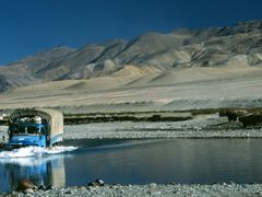 Crossing Gar Tsangpo by <b>Dirk Jenrich</b> ( a Panoramio image )