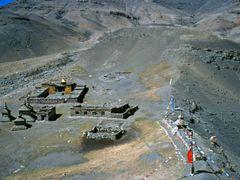 Gyandrak Gompa by <b>Dirk Jenrich</b> ( a Panoramio image )