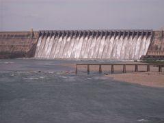 Nagarjuna sagar dam (RamaReddy Vogireddy) by <b>RamaReddy Vogireddy</b> ( a Panoramio image )