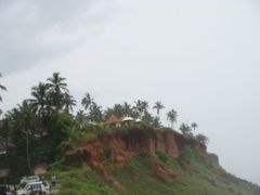 View from the Beach at Varkala, Kerala,India  by <b>unnippillai</b> ( a Panoramio image )
