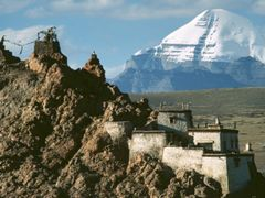 Kailash and Chiu Gompa II by <b>Dirk Jenrich</b> ( a Panoramio image )