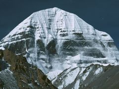 Kailash from Shivastal by <b>Dirk Jenrich</b> ( a Panoramio image )