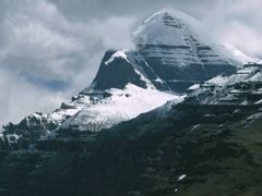 Kailash with Shivas Face by <b>Dirk Jenrich</b> ( a Panoramio image )