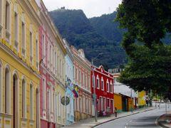 Fachada de casas - Calle Septima en Bogota by <b>bp_meier</b> ( a Panoramio image )