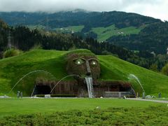 Swarovski Riese Wattens - © AW by <b>Andrea Witt</b> ( a Panoramio image )