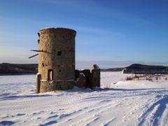 Сторожевая башня на берегу Амура by <b>ГраВИ  ©</b> ( a Panoramio image )