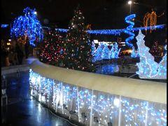 Pitesti - Chistmas lights  by <b>Alin Sandulescu & Don Bebino</b> ( a Panoramio image )