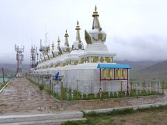 Javkhlant Tolgoi - Stupas by <b>Mongolia Expeditions & Tours</b> ( a Panoramio image )