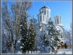 #77 Cathedral in winter by <b>Dragomir Dan</b> ( a Panoramio image )