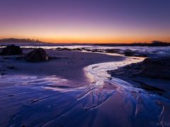 Sunset Stream by Spanish Bay by <b>JeffSullivanPhotography</b> ( a Panoramio image )