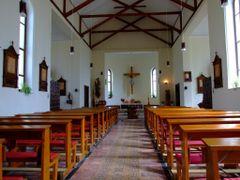 Inside the romano-catholic church by <b>TravelBadgers</b> ( a Panoramio image )