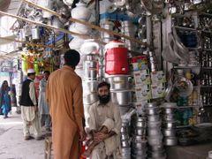 Tin Shops Peshawar by <b>Raki_Man</b> ( a Panoramio image )