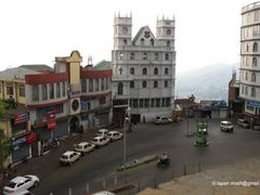 Aizawl - In front of Temple Square Church by <b>tapan</b> ( a Panoramio image )