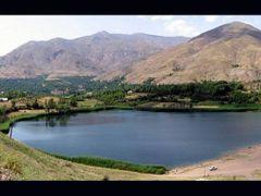 Evan (ovan) lake  by <b>Mahdi Madani</b> ( a Panoramio image )