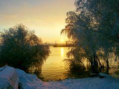 Sunrise of the Christening 06-Jan-2011 - Rasarit de Boboteaza 20 by <b>Ioan Cepaliga</b> ( a Panoramio image )