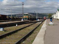 Naushki train station by <b>kristofb</b> ( a Panoramio image )