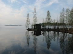 Neulalahti in early spring, Kuopio, May 2003 by <b>JaTaLa</b> ( a Panoramio image )