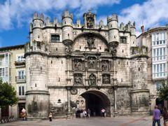 Burgos - Puerta de Santa Maria by <b>acuario - Alicia</b> ( a Panoramio image )