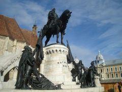 Mathias Rex (23 Feb 1443 Kolozsvar- 6 Apr 1490 Wien) by <b>Marti K.</b> ( a Panoramio image )