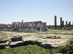 Cyrene - Large altars in the Agora by <b>Cottius</b> ( a Panoramio image )