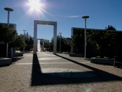 Poet Park Entrance - Oeiras PORTUGAL by <b>Isabel  R. Marques</b> ( a Panoramio image )