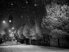Snow, Leinster Rd, Rathmines, Dublin. Ireland by <b>2c</b> ( a Panoramio image )