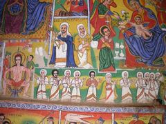 monastere d'Uhra Kidane Mehret by <b>Fouderg</b> ( a Panoramio image )