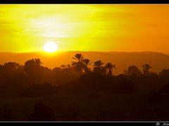 Arrebol en El Nilo (palabra recuperada del lexico de Rubens) (fo by <b>Jesus Municio</b> ( a Panoramio image )