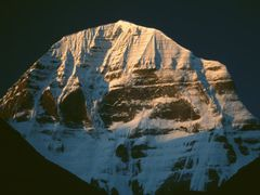 Sunrise Kailash North Face by <b>Dirk Jenrich</b> ( a Panoramio image )