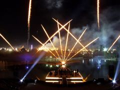 Fuegos Pirotecnicos en La Feria Estatal de Leon by <b>? ? galloelprimo ? ?</b> ( a Panoramio image )