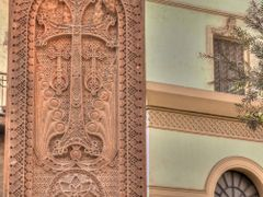 Armenian Cross-stone in Cairo by <b>arch.khazarian</b> ( a Panoramio image )