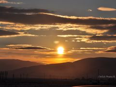 Sunset In The Mountains - C.A by <b>cahit Arpac?k</b> ( a Panoramio image )