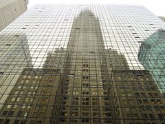 Reflection of the Chrysler Building - New York (NYC) - USA by <b>diego_cue</b> ( a Panoramio image )