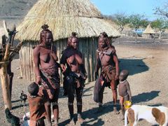 Africa - Namibia - the wonderful Himba people, a semi-nomadic tr by <b>valerio giulianelli</b> ( a Panoramio image )