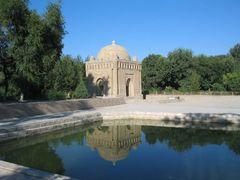 Uzbekistan-Buhara_Ismail-Samani-Mausoleo by <b>OT46</b> ( a Panoramio image )