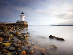 Portland Breakwater Light by <b>tfavretto</b> ( a Panoramio image )