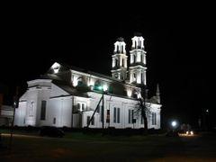 Asmiany, church of St. Michael the Archangel. Kasciol Sviatoha M by <b>Andrej Kuzniecyk</b> ( a Panoramio image )