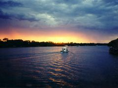 sunset over the Zambezi River by <b>Frode I</b> ( a Panoramio image )