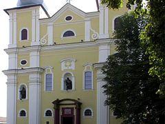 KATOLIKUS TEMPLOM-CHURCH /NAGYBANYA-ERDELY/ 1 by <b>BALAS ISTVAN</b> ( a Panoramio image )