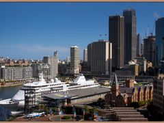 Circular Quay is the hub of the Sydney Harbour and is a vibrant, by <b>PHOTO.K.C</b> ( a Panoramio image )