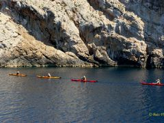Kayaks at islands Kornati. Байдарки у островов Корнаты. by <b>Buts_YV</b> ( a Panoramio image )