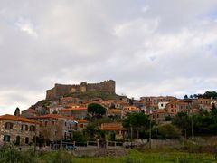 The castle and a part of Mithymna... Lesvos, Greece.. by geotsak by <b>geotsak?</b> ( a Panoramio image )