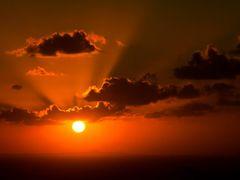 Caribbean sunset by <b>Michael Braxenthaler</b> ( a Panoramio image )