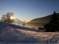 Beatenberg-Waldegg on a sunny winter afternoon ©swissmountainvie by <b>swissmountainview.ch Franziska Andre-Huber</b> ( a Panoramio image )
