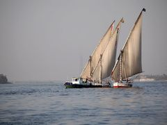 sails on the Nile by <b>tom_mino</b> ( a Panoramio image )
